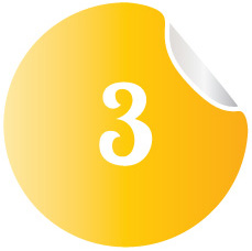 3numbered-bullet-points-sticker-vector